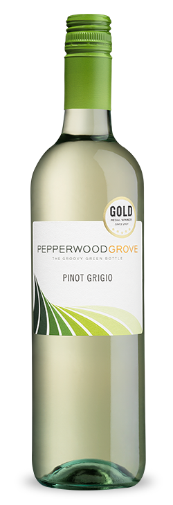 Pepperwood Grove Pinot Grigio in a bottle